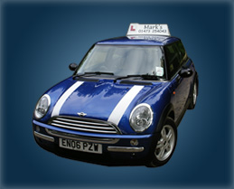 Mark's School of Motoring providing driving lessons
